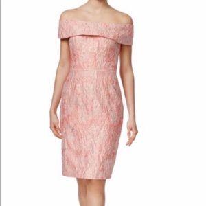 Calvin Klein off shoulder dress